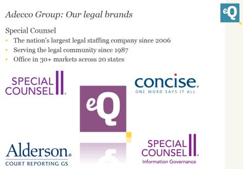 Adecco Legal Brands